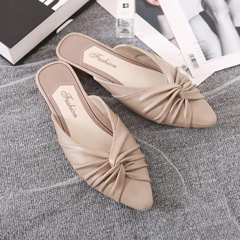 Flat Bottom Casual Slippers For Women