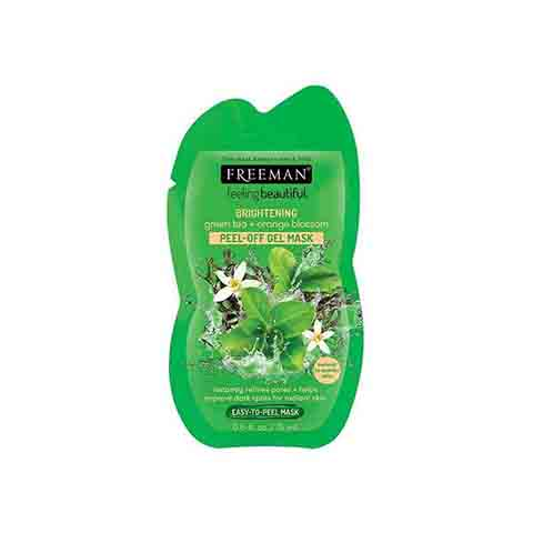 Freeman Brightening Green Tea + Orange Blossom Peel Off Gel Mask 15ml