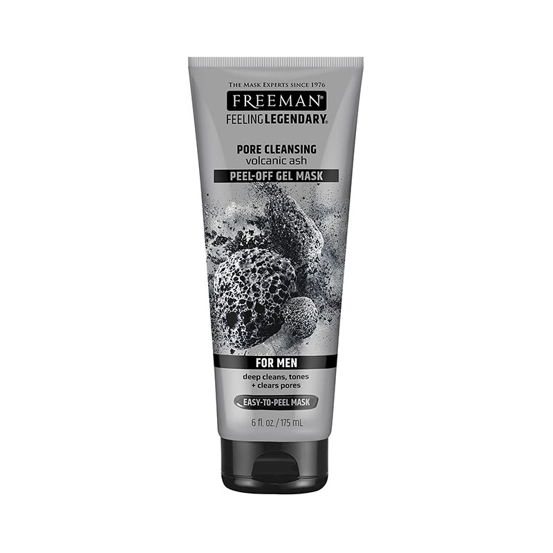 Freeman Pore Cleansing Volcanic Ash Peel-Off Gel Mask For Men 175ml