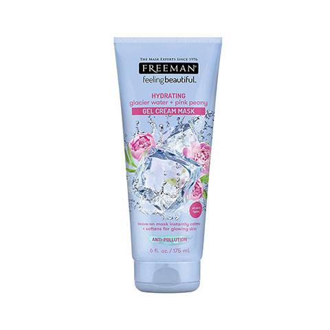 Freeman Hydrating Glacier Water + Pink Peony Gel Cream Mask 175ml