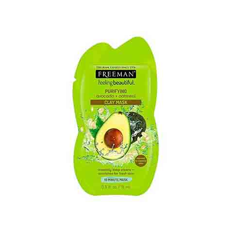 Freeman Purifying Avocado + Oatmeal Clay Mask 15ml