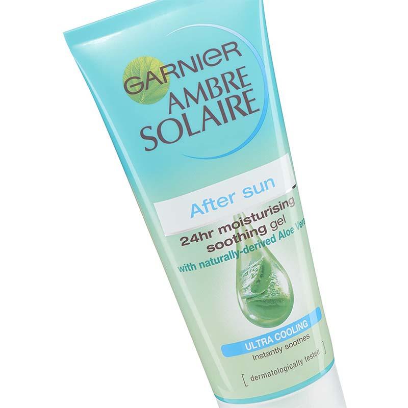 Garnier Ambre Solaire After Sun 24hr Moisturising Ultra Cooling Soothing Gel 200ml