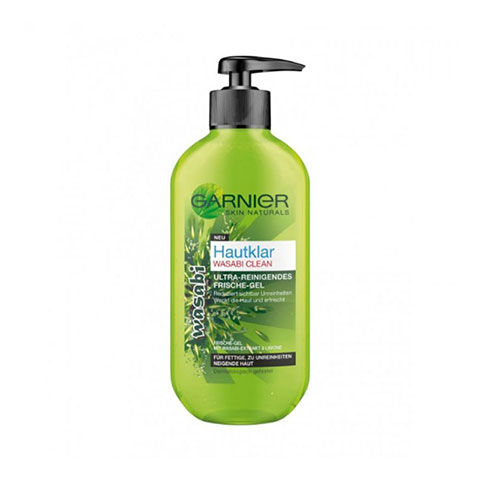 Garnier Hautklar Wasabi Clean Ultra Cleansing Freshness Gel 200ml