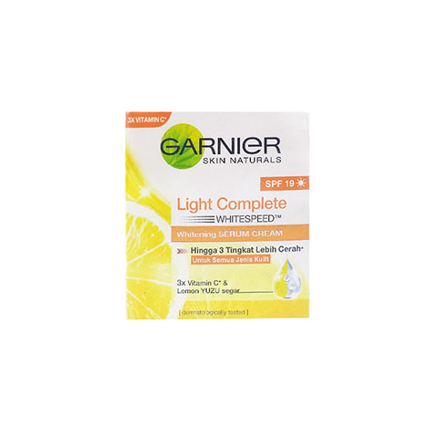 Garnier Light Complete Whitespeed Whitening Serum Cream SPF19 - 50ml