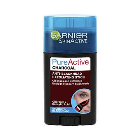 Garnier Skin Active Pure Active Anti Blackhead Charcoal Exfoliating Stick 50ml