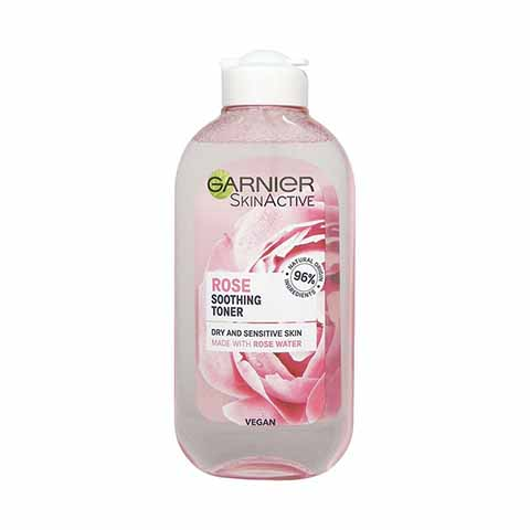 Garnier Skin Active Soothing Toner With Rose Water 200ml