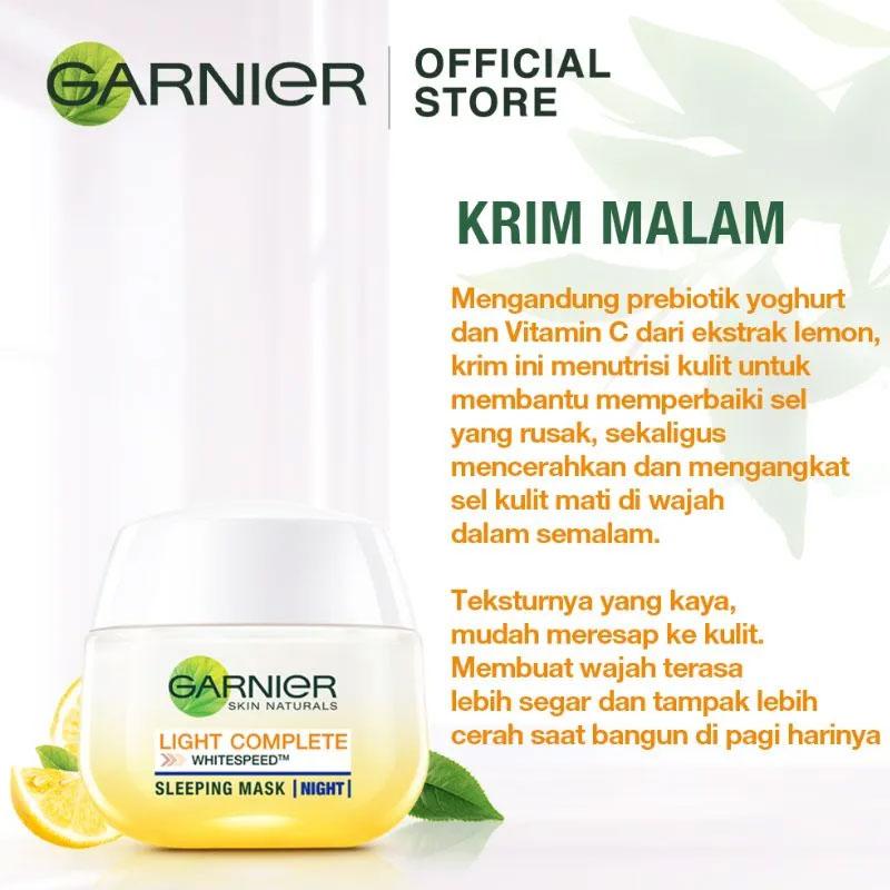 Garnier Skin Naturals Light Complete Yoghurt Night Sleeping Mask 50ml