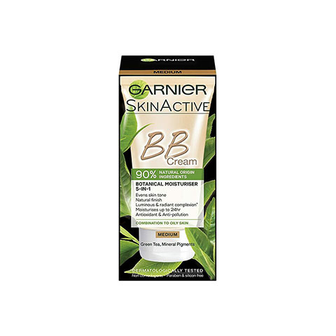 Garnier SkinActive BB Cream For Combination To Oily Skin 50ml - Medium