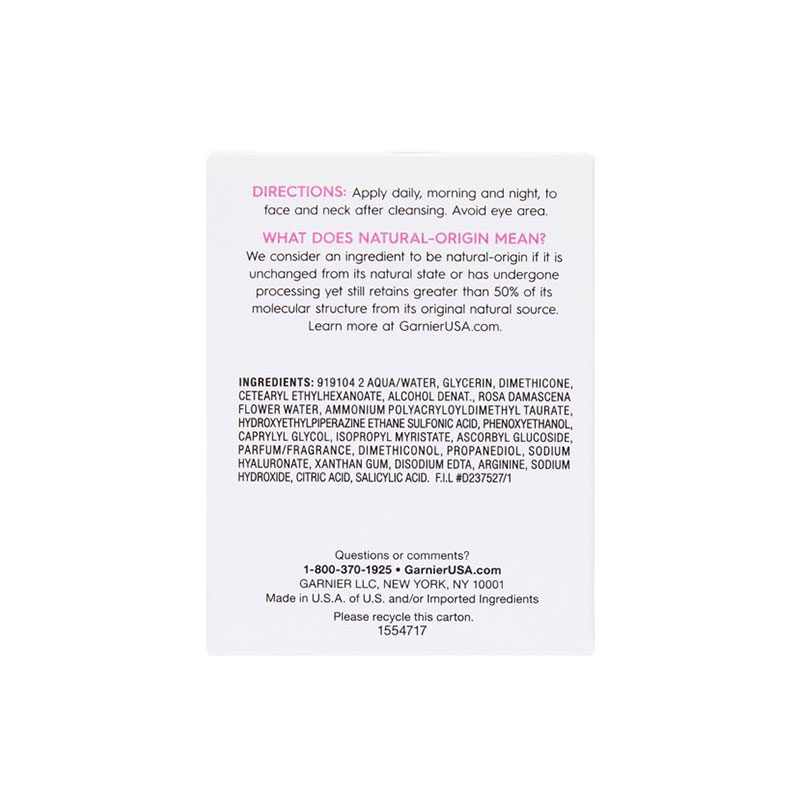 Garnier SkinActive Water Rose 24H Moisture Cream 48g