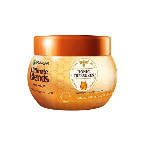 Garnier Ultimate Blends Honey Treasures Strength Restorer Hair Mask 300ml