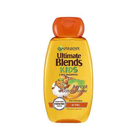 Garnier Ultimate Blends Kids Apricot & Cotton Flower Shampoo 250ml