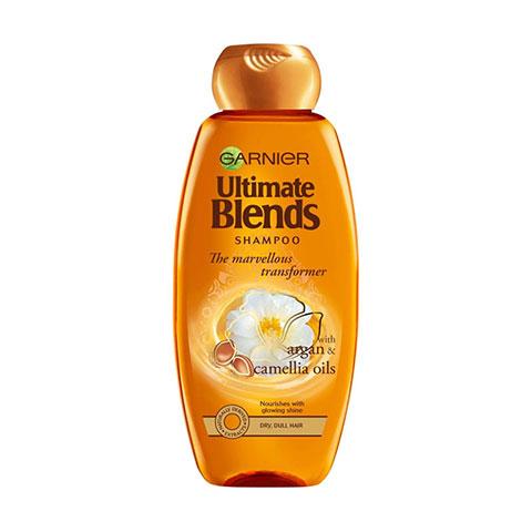 Garnier Ultimate Blends Marvellous Transformer With Argan Oil & Camellia Shampoo 360ml