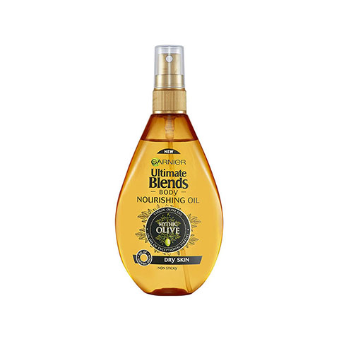 Garnier Ultimate Blends Mythic Olive Body Nourishing Oil For Dry Skin 150ml