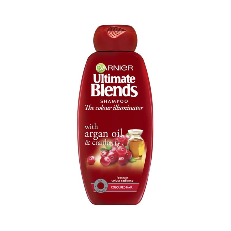 Garnier Ultimate Blends The Colour Illuminator Shampoo For Coloured Hair 360ml