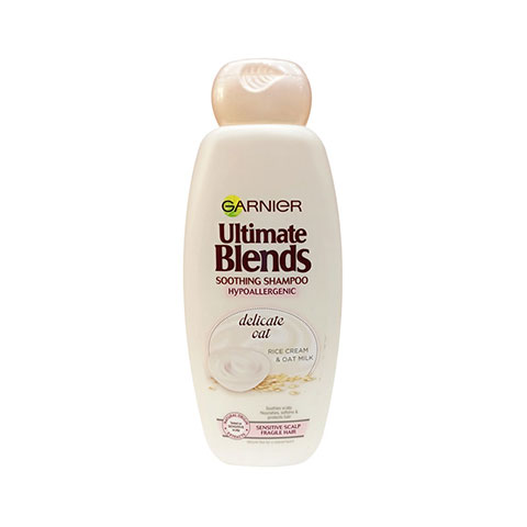Garnier Ultimate Blends Soothing Shampoo Hypoallergenic With Delicate Oat 360ml