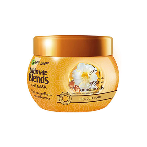 Garnier Ultimate Blends The Marvellous Transformer Argan & Camellia Oil Hair Mask 300ml