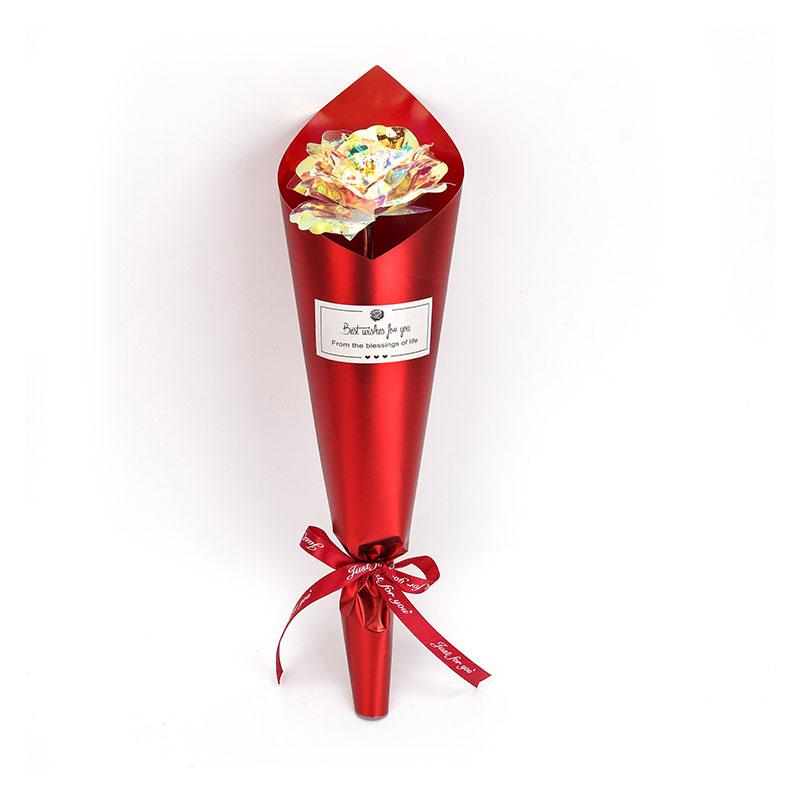 Gold Foil ImitationGold Rose Flower