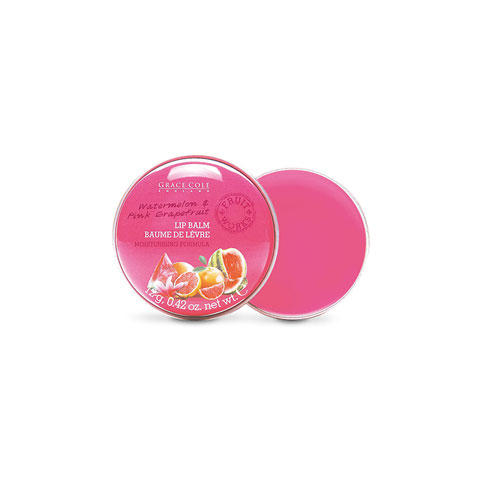 Grace Cole England Watermelon & Pink Grapefruit Lip Balm 12g