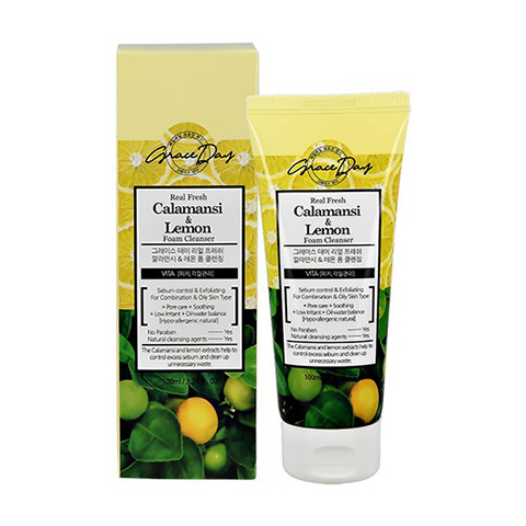 Grace day Real Fresh Calamansi & Lemon Foam Cleanser 100ml