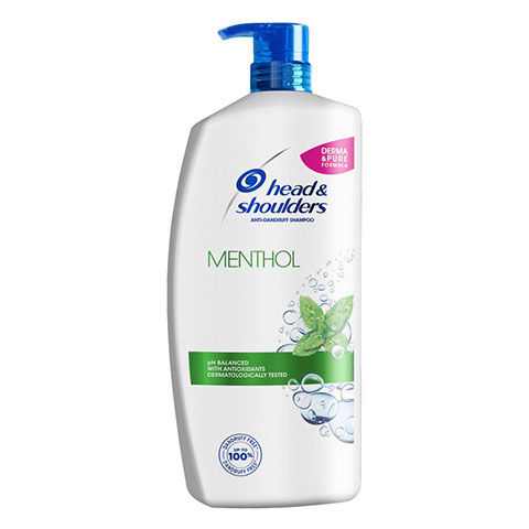 Head & Shoulders Menthol Anti - Dandruff Shampoo 900ml