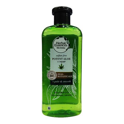 Herbal Essence Bio:Renew Potent Aloe + Hemp Shampoo 380ml