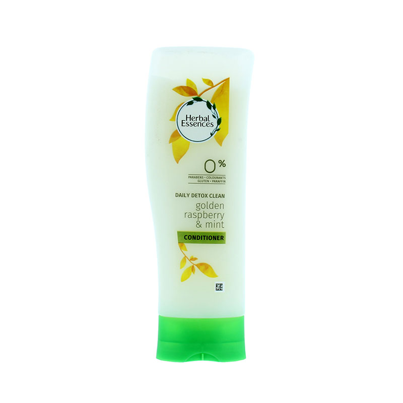 Herbal Essences Daily Detox Clean Golden Raspberry and Mint Conditioner 200ml