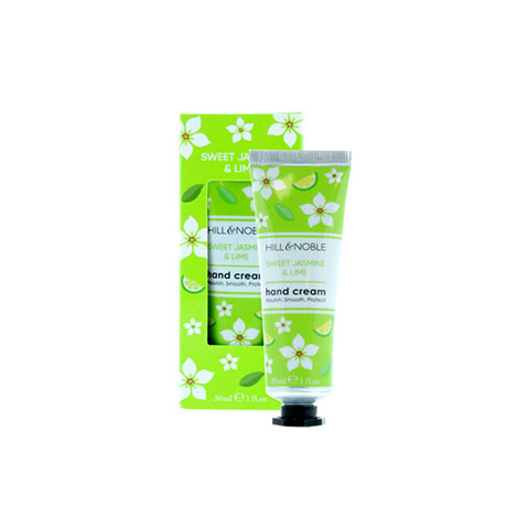 Hill & Noble Sweet Jasmine & Lime Hand Cream 30ml