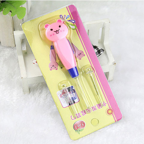 Huanjie Child Safety Ear Pick - Pink