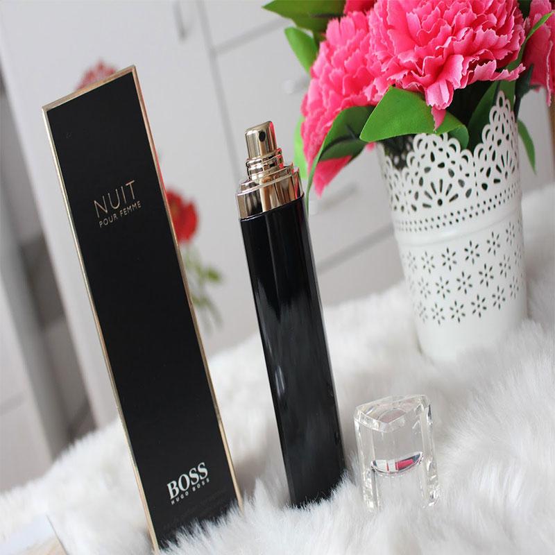 Hugo Boss Nuit Pour Femme Eau De Parfum For Women Natural Spray 75ml