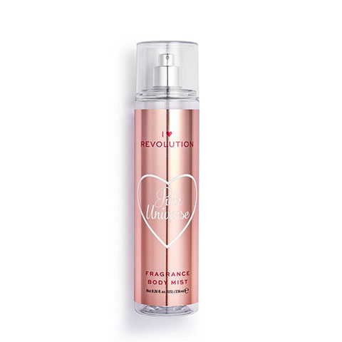 I Heart Revolution Pink Universe Fragrance Body Mist 236ml
