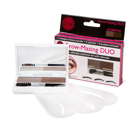 J. Cat Beauty Brow Mazing Duo Ultimate Eyebrow Kit - 103 Brown Duo