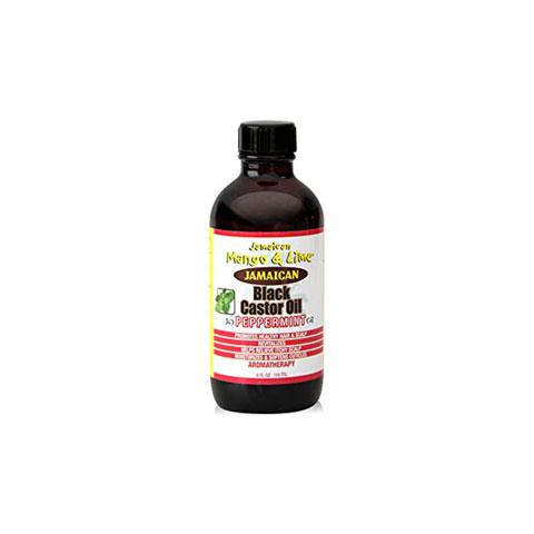 Jamaican Mango & Lime Jamaican Black Castor Oil Peppermint 118ml