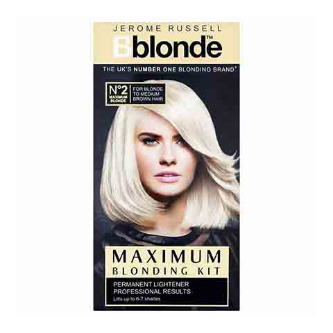 Jerome Russell Bblonde Maximum Blonding Kit 2  Permanent Hair Colour