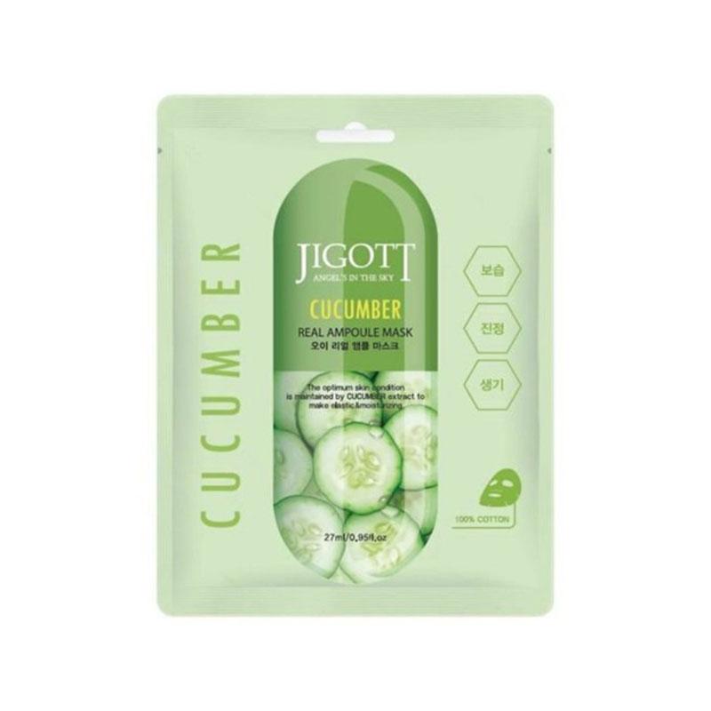 Jigott Cucumber Real Ampoule Sheet Mask 27ml