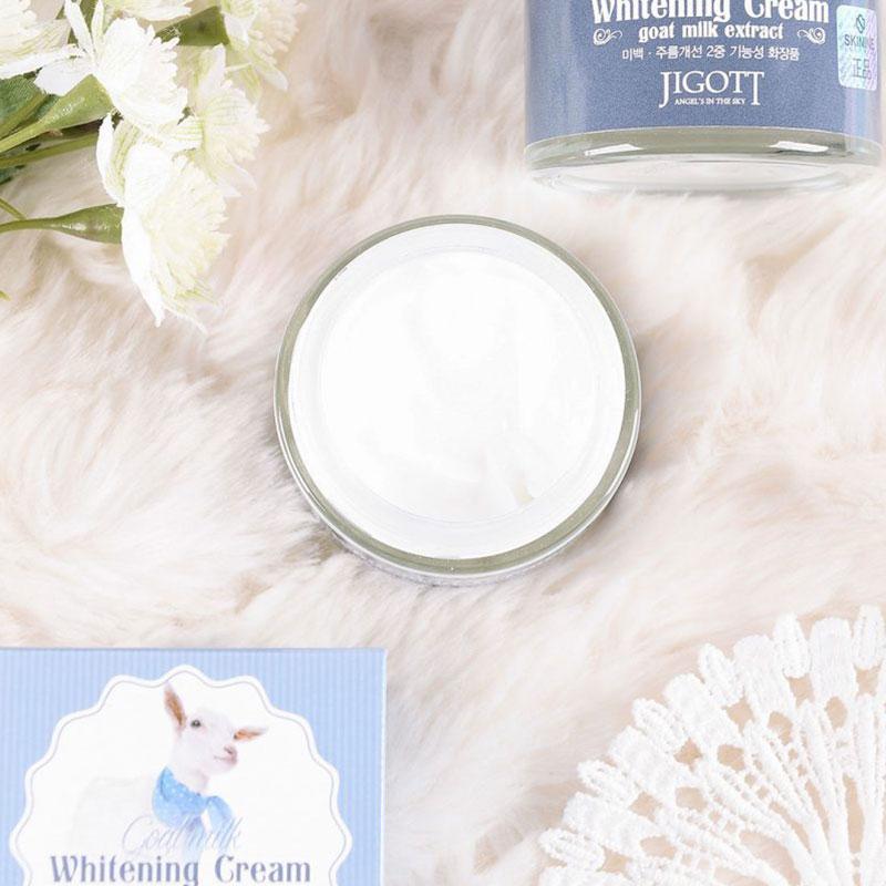 Jigott Goat Milk Whitening Cream 70ml