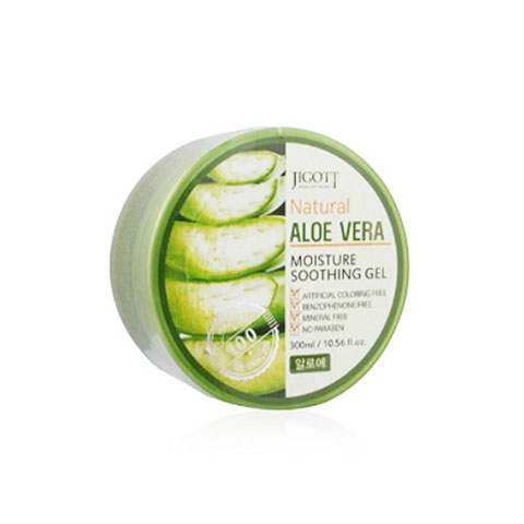 Jigott Natural Aloe Vera Moisture Soothing Gel 300ml