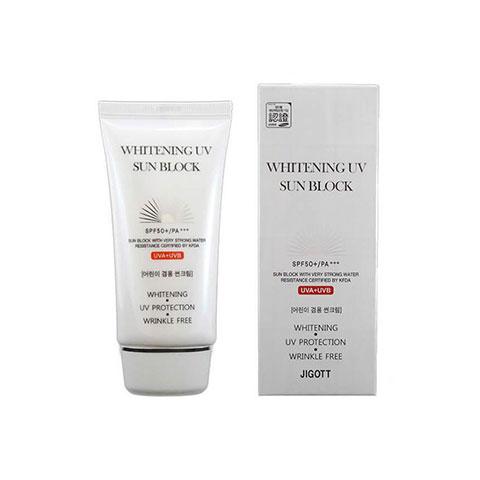 Jigott Whitening UV Sun Block 70ml - SPF 50+ PA+++