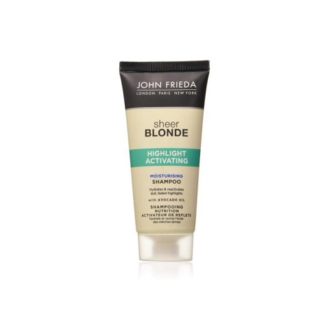 John Frieda Sheer Blonde Highlight Activating Moisturising Shampoo 50ml