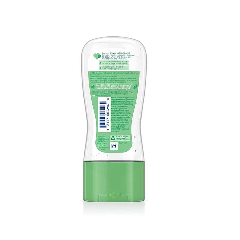 Johnson's Aloe & Vitamin E Baby Oil Gel 192ml
