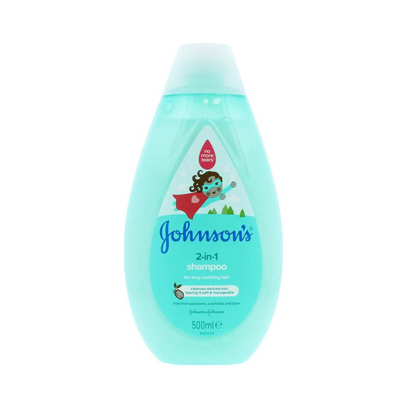 Johnson's Baby 2 in 1 Shampoo 500ml