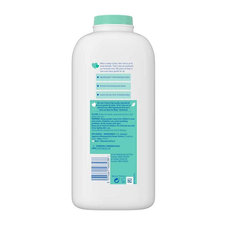 Johnson's Baby Fresh Powder with Honeysuckle Extract 500g