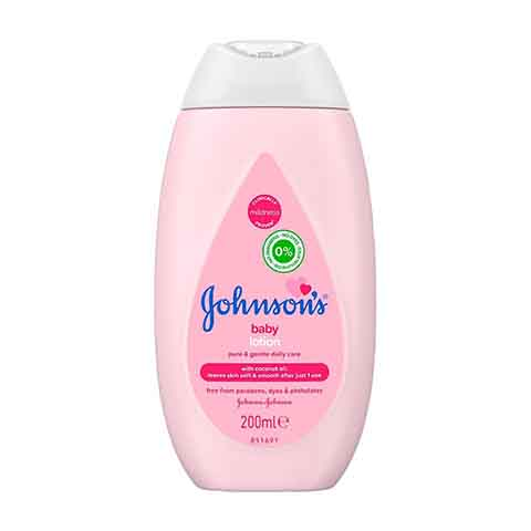 Johnson's Baby Lotion With Coconut Oil 200ml