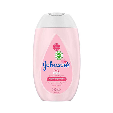 Johnson's Baby Pure & Gentle Daily Lotion 300ml