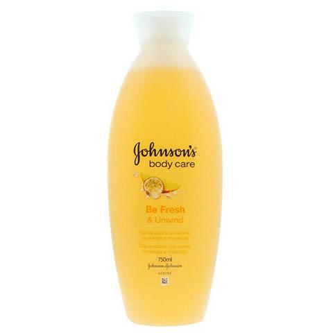 Johnson's Body Care Be Fresh & Unwind Shower Gel 750ml