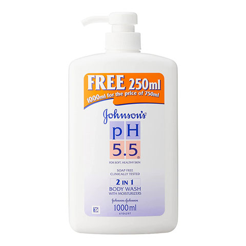 Johnson's pH 5.5 2 in 1 Body Wash With Moisturizers 1000ml