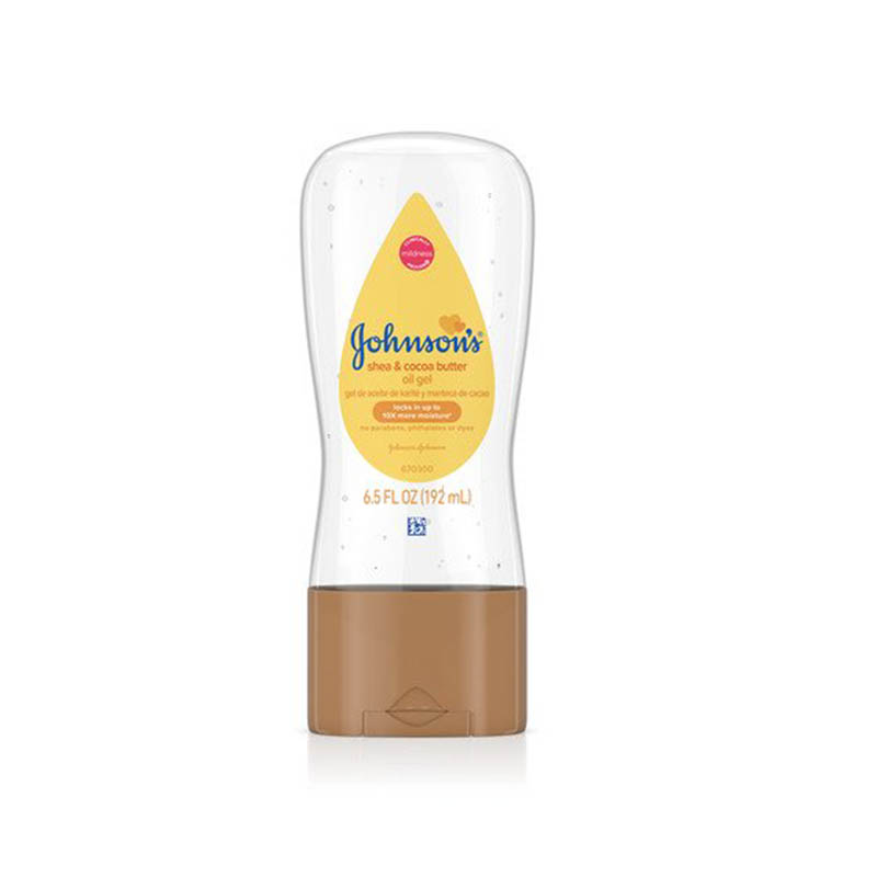 Johnson's Shea and Cocoa Butter Baby Oil Gel 192ml