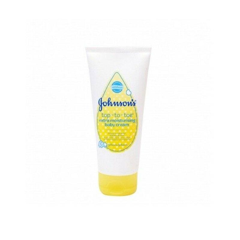 Johnson's Top-to-toe Extra Moisturising Baby Cream 100ml