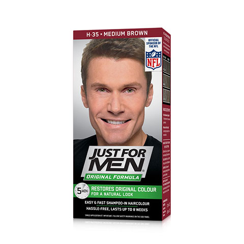 Just For Men Hair Color - H 35 Medium Brown