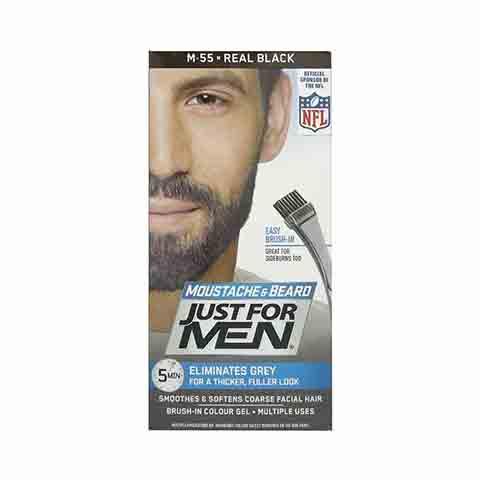 Just For Men Moustache & Beard Colour - M55 Real Black
