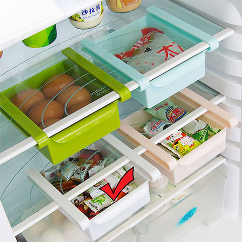 Kitchen Creative Refrigerator Drawer - White